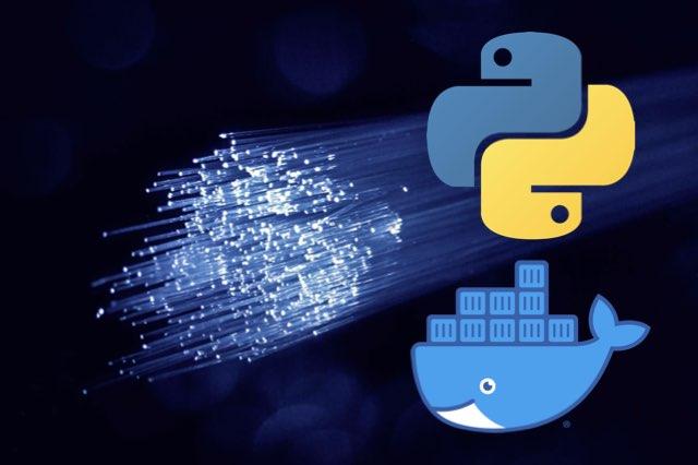 Python and Docker network